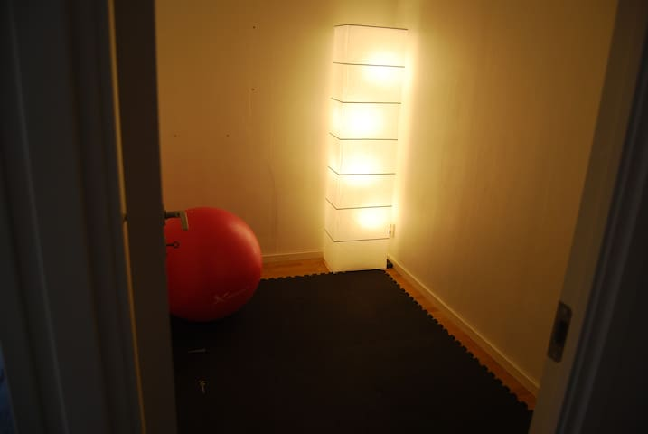 Small exercise room