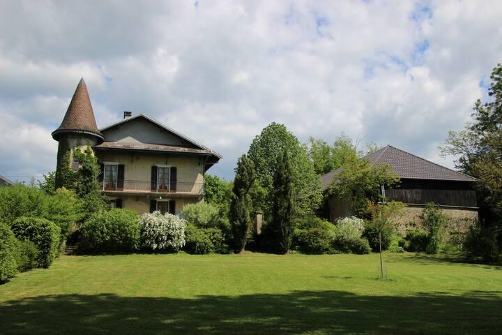 Maison de caractère entre lacs Annecy et Bourget