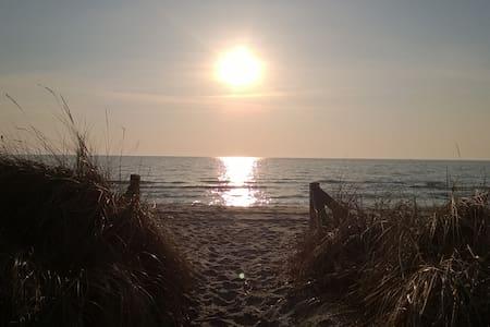 Sonnenanbeter - 50m bis zum Strand - Middelhagen