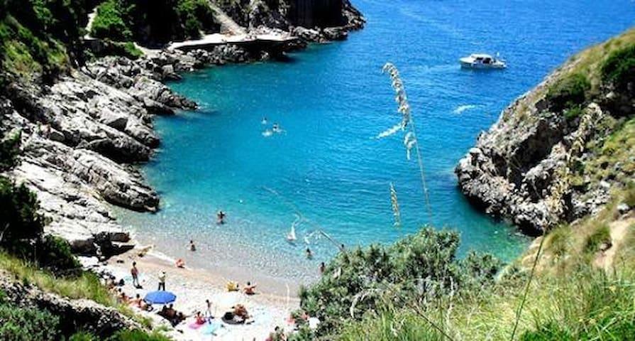 Vista stupenda su Capri - massa lubrense - Casa
