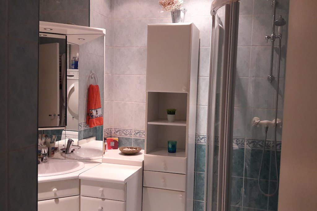 Salle de bain privée