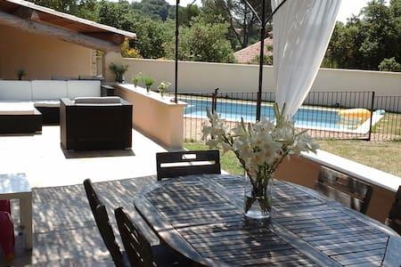 Maison en Provence avec piscine - Sainte-Cécile-les-Vignes