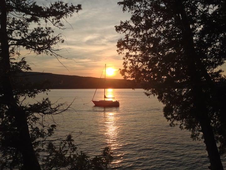 Willsboro Point on Lake Champlain
