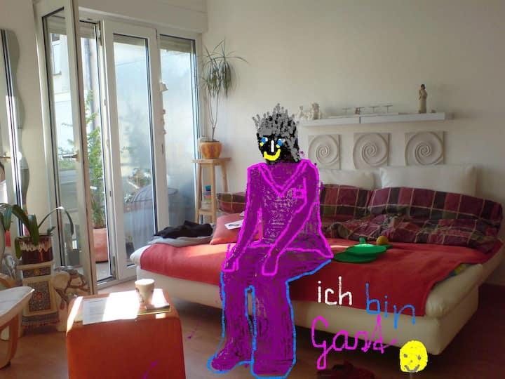 Appartement, gemütlich, nähe U-Bahn, Zi+Küche+Bad
