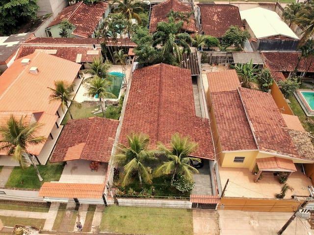 Casa Guarujá - Praia de Pernambuco para 7 pessoas