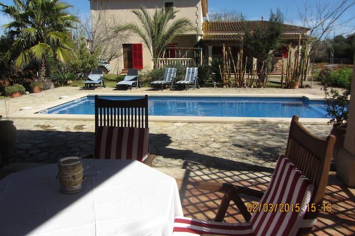 Private villa with swimming pool. - Sencelles - Villa