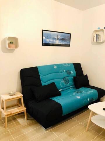 Studio cosy centre ville de Vannes