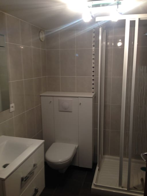 Salle d'eau rénovée