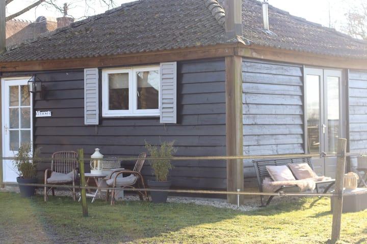 Hooiberg Lodge vrijstaand in rustieke omgeving