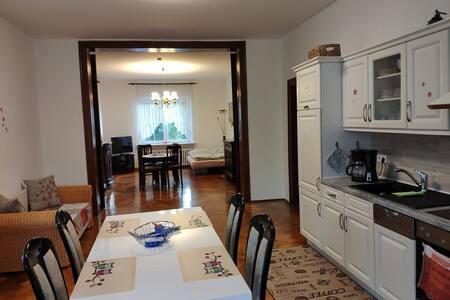 ruhige gemütliche Wohnung  bis 4 Personen
