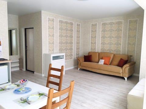 Уютная квартира на первой береговой Джемете