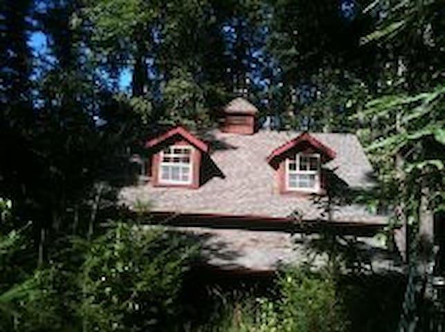 Bonny Doon Studio -Private space above barn. - Santa Cruz - Overig