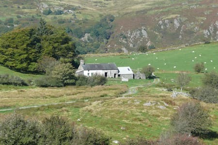 Tyn Llyn, a remote farmhouse for the right couple. - Gwynedd
