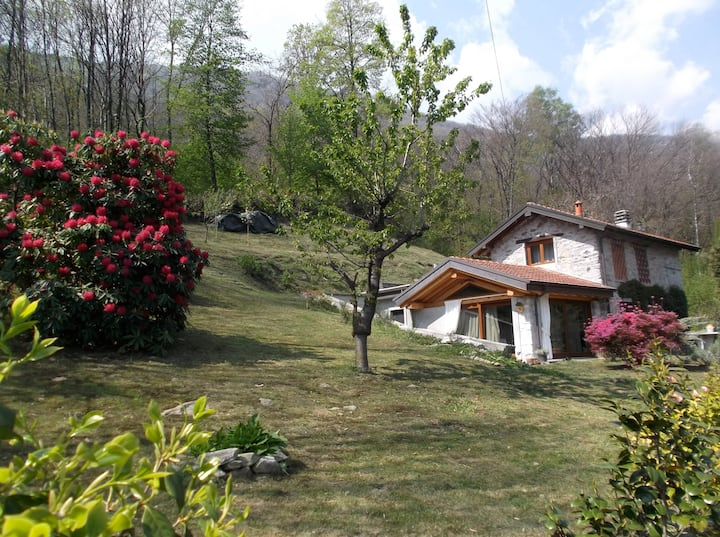 Nice country house 7 km away from lago d'Orta