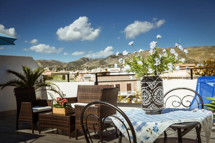 Ghirigori di Sicilia luxury apartment-mare-relax