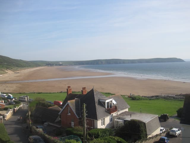 Fantastic spot - Greycliffe 'Sea' room (single) - Woolacombe - Casa