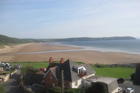 Fantastic spot - Greycliffe 'Sea' room (single) - Woolacombe