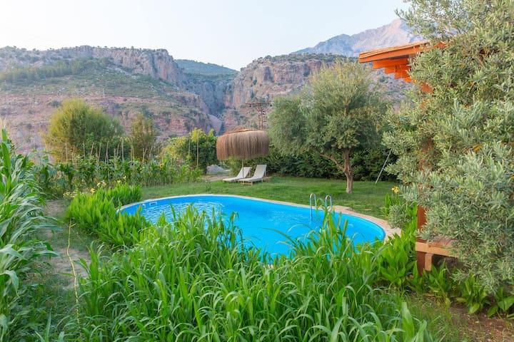 Ahşap Villa , Ölüdeniz Faralya - Fethiye - Casa de camp