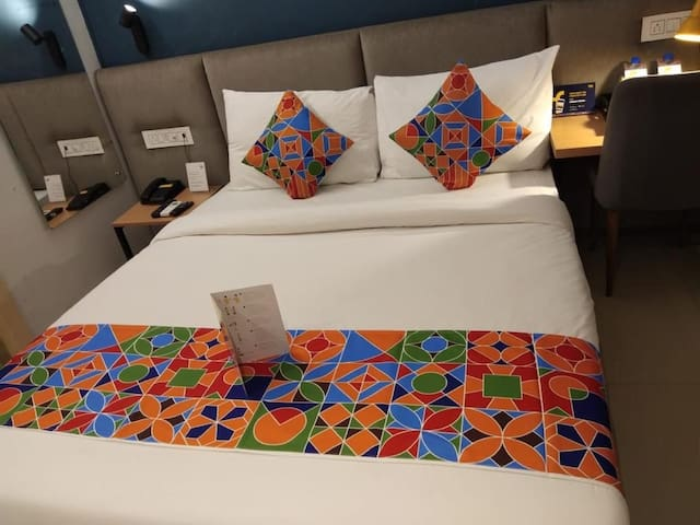 Modern, clean,comfortable & safe delux Hotel room.