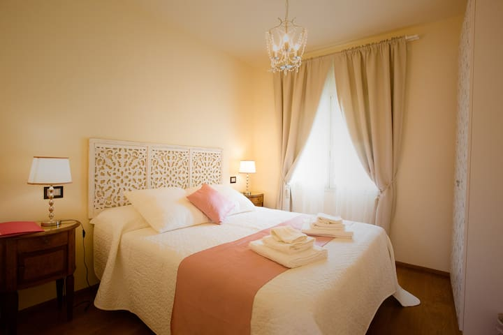 Rose double bedroom