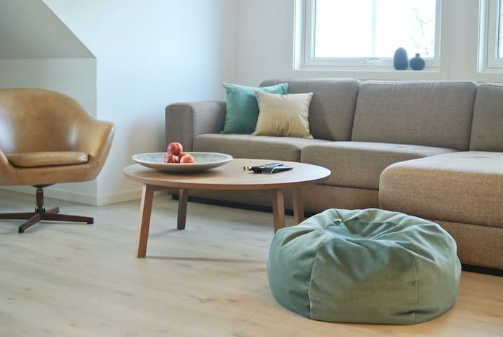 Spacious modern apartment in a quiet neighborhood - Trondheim - Huoneisto