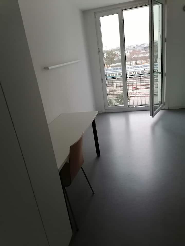 20 qm Zimmerappartement