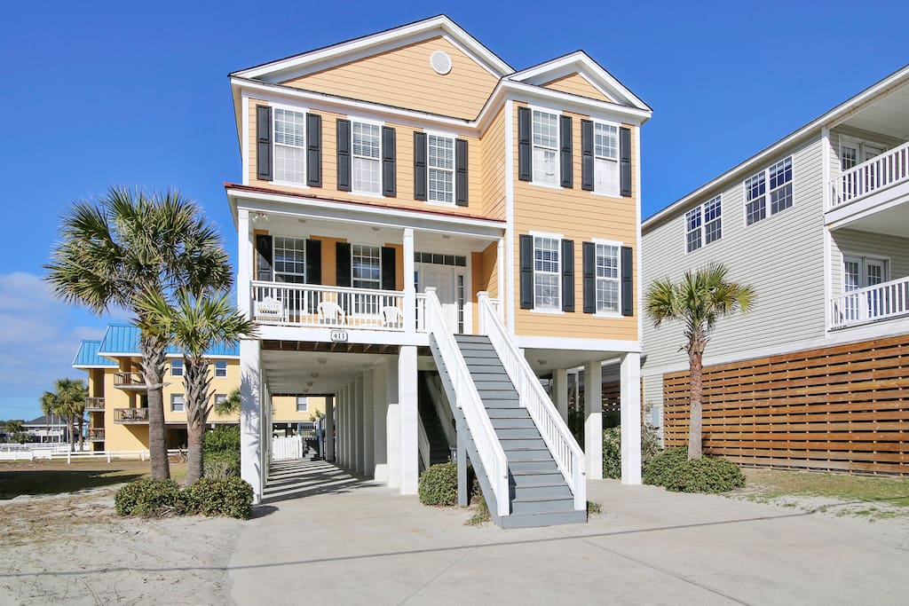 Lucky 7 Lodge Second Row Houses For Rent In Garden City Beach South Carolina United States