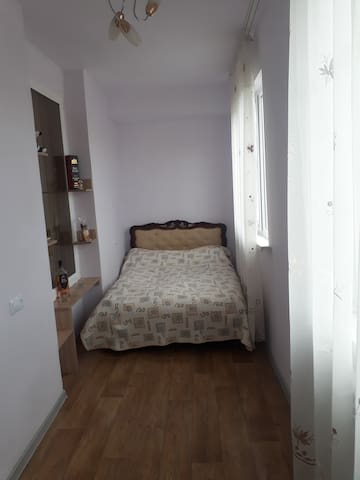 Fully furnished 1 bedroom+hall  apartment