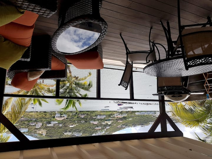 LES BALCONS D'OYSTER POND BUNGALOW N°9 WITH EXTRA LARGE TERRACE MARINA LEVEL