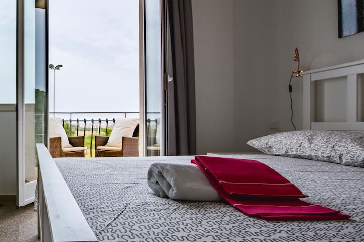 BEB IL FARO camera tripla vista mare - Carrozziere - Bed & Breakfast