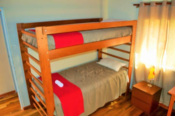 Dormitorio compartido en Casa de Campo
