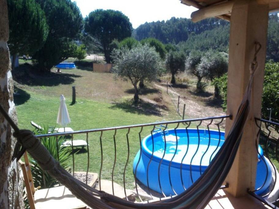 holiday house Portugal terrace view