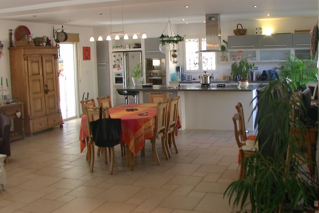 sejour cuisine 72 m2