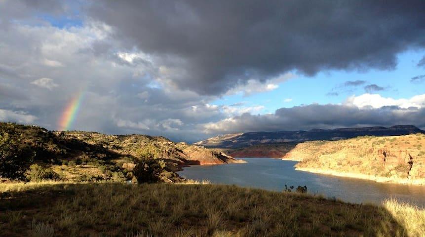 Amazing views.