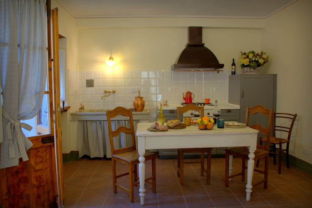 cucina dell'Ines