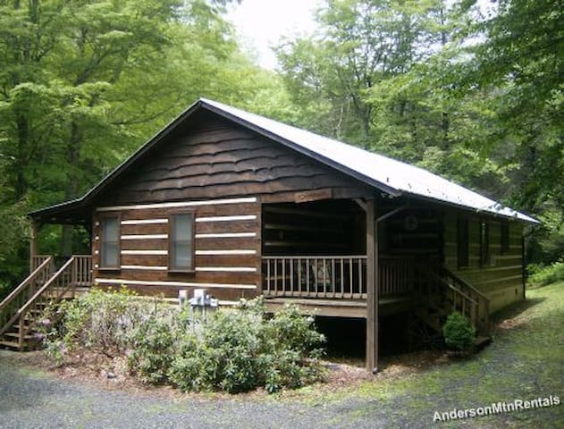 Carters Creekside on Trout Stream Boone, NC - Boone - Cabana