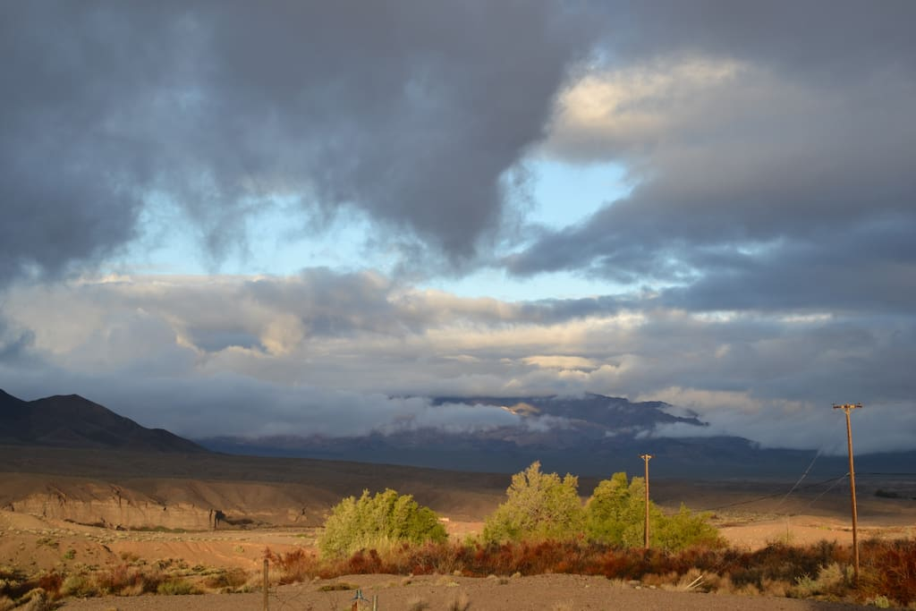 A shot from the property revealing that there's really no better place to capture the magnificence of Death Valley.