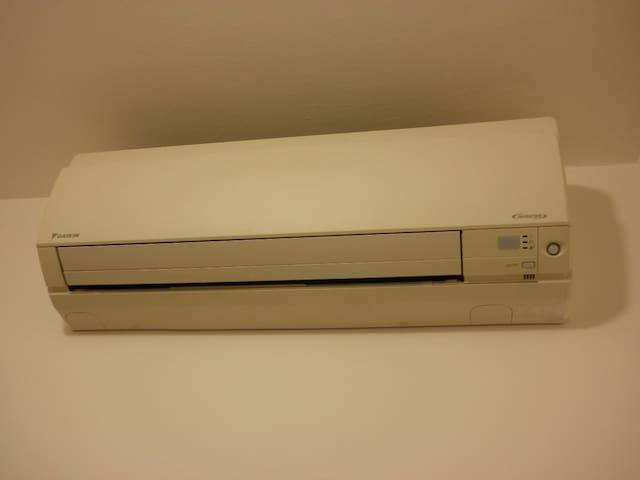 Heating + air conditioner - Heizung + Klimaanlage - Riscaldamento + aria condizionata