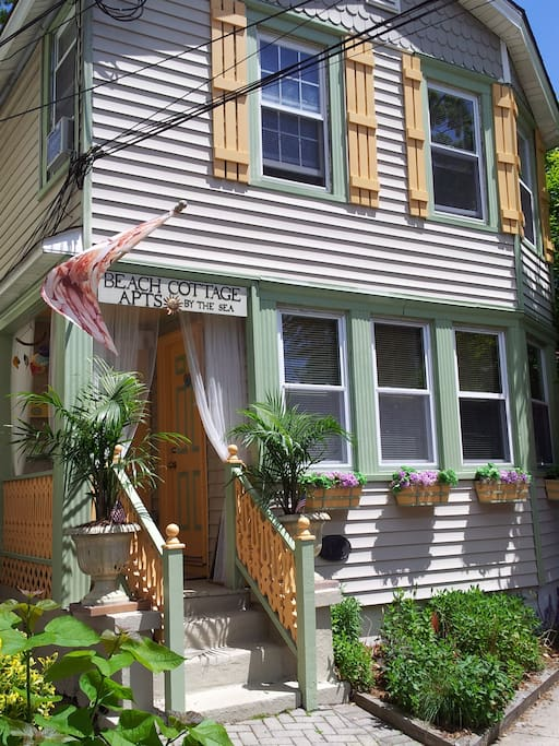 Charming historic beach home in Ocean Grove.