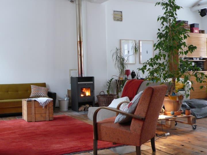 Loft in Viennas creative district