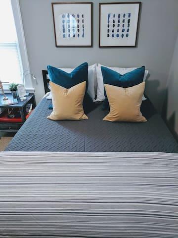 Queen bed #1
