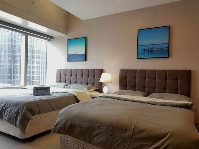 Hotel-like 2-Bed Makati Condo perfect for NCLEX