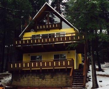 Relaxing Cozy Cabin- Lake Arrowhead - 箭头湖 - 小木屋