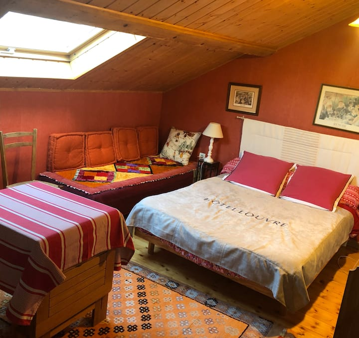 La Boutonnière Chambres d'hôtes dans le Jura