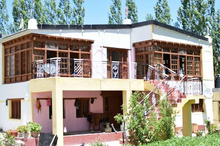Real Homestay on the Outskirts of Leh City