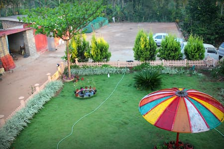 One BDR with private estate view - coorg