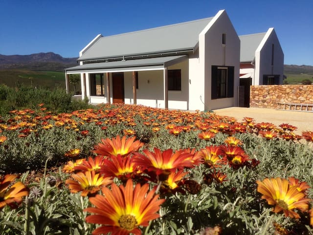 two baan-house with a lake - Hermanus - Botrivier