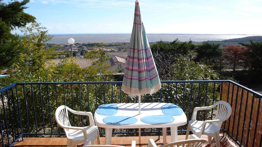 Mer et garrigue  - Fitou - Appartement