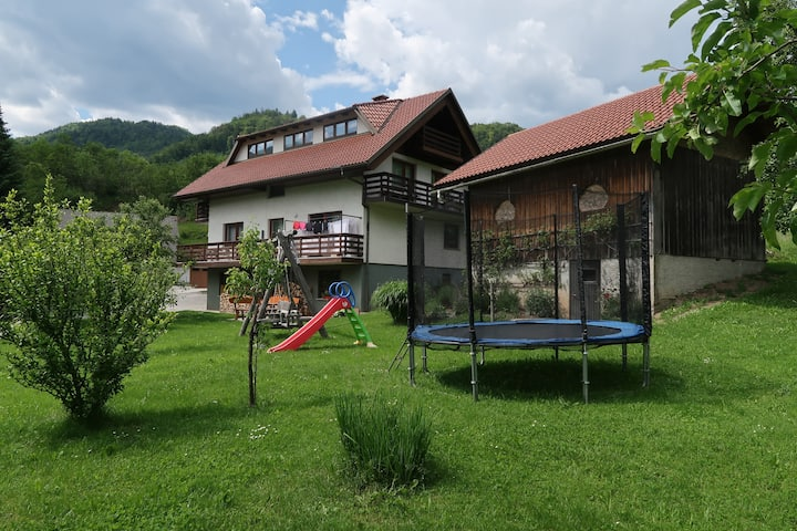 Family rooms for four persons