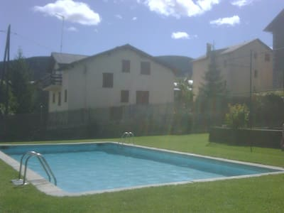 La Cerdanya Alp apartamento con piscina-HUTG:0197 - Alp - アパート